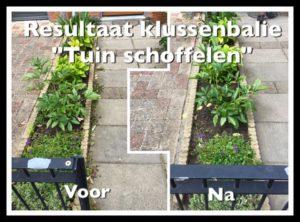 Tuin schoffelen, door de klussenbalie van Winkel van Rie