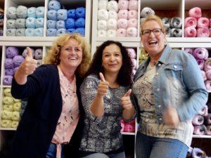Winkel van Rie, textiel bewerking, wol en 2e hands kleding