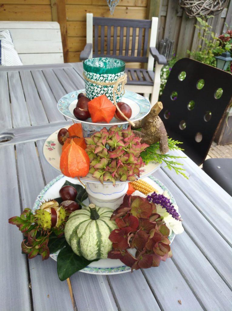 Herfstbloemschikken bij Winkel van Rie