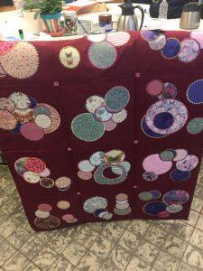 textielbewerking plaid